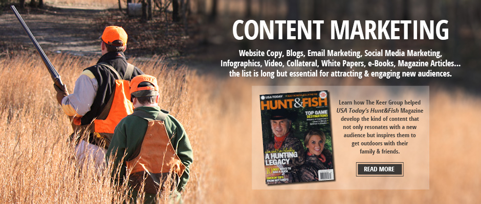 Content Marketing for USA Today Hunt&Fish