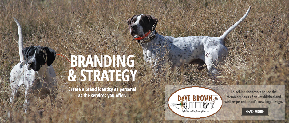 Branding and Strategy for Dave Brown Outfitters